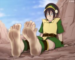 Toph Bei Fong by sbel02