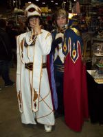 Emperor Lelouch and Suzaku by Howlingstar89