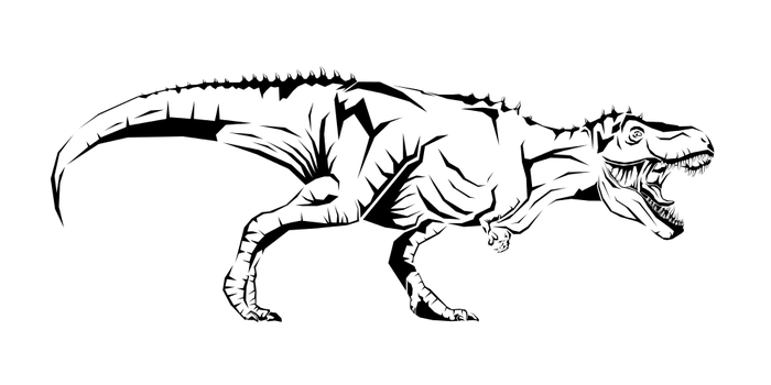 T Rex Design by Tharsius