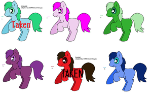 Mlp adoptables II OPEN by ShanoontheEpic