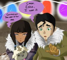 Eska and Bolin by Emolise