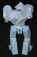 Real Steel Paper model: Noisy Boy: Easy 02 by ThunderChildFTC
