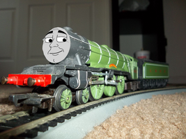 The Flying Scotsman by Blockwave