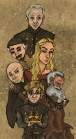 The King's Small Council (Game of Thrones) by SmudgeThistle