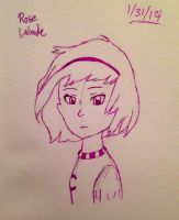 Draw Homestuck: Rose Lalonde by artgamerforever