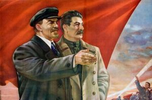 Stalin and Lenin by thesuperqueer