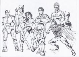 Justice League!! by craig1992