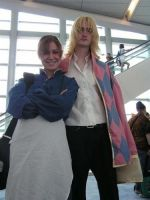 Howl and Sophie at AX by missrelena