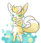 A special Meowstic - Point commy by Eifi--Copper