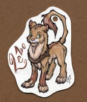 Badge for Lebo by Zelaphas