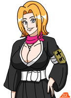 Early Rangiku by PerryWhite