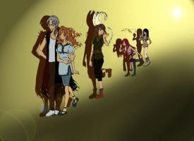 Collab_Walking Together by shafry