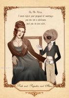 Pride and Prejudice and Aliens by Isbjorg