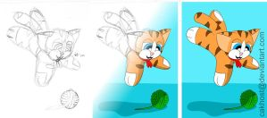 Browni Cat Jump - Progression by cakhost