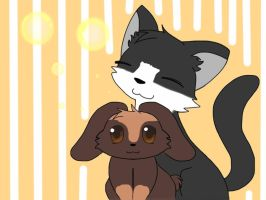 Animal Commission: Best friends by 4everabooklovergirl2