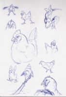 Chickins by Paperiapina