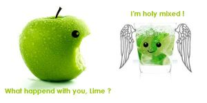 The Apple and the Lime Story by adrianaskm