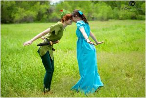 Peter Pan and Wendy by PuppetsFall