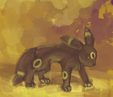 Umbreon by Kelsi-sama
