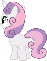 Sweetie Belle Looks Beyond by tamalesyatole