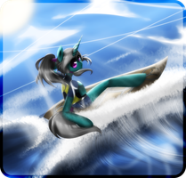 Sea Breeze .:commission:. by kaiomutaru25