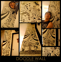 Doodle Wall by chaxelos
