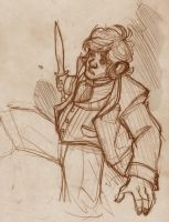 THE HOBBIT - Bilbo Sketch by DenisM79