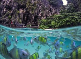 Poda Island, Thailand by fly10