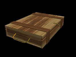 Wooden Chest by Emrah007