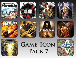 Game Aicon Pack 7 by HarryBana