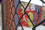 Detroit Graffiti Fence by KaturahTRS