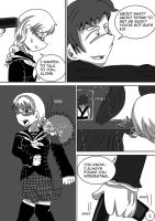 P4 Comic- No Way Back pg2 by Mistynia