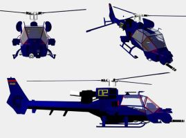 Blue Thunder Helicopter. by Gustvoc