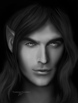 Mael the Vampire King by ThreshTheSky