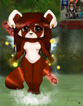 ~Crimsonmend the pandaren priest ~ by CrimsonFange