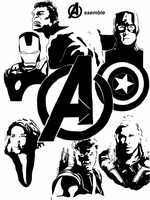 Avengers - Assemble by Mr-Saxon