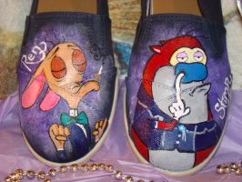 Renwaldo and Stimpson J. Cat by ChumpShoes