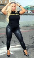 Coco Austin spandex pit girl #2 by incredibleB