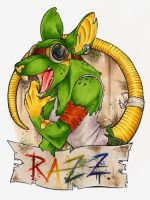 CALIFUR Razzek badge by zirio
