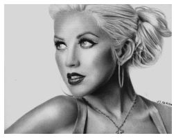 Christina Aguilera by itsginns