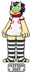 Noodle pixel (animated) by kittenScientist