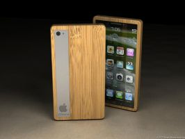 iPhone bamboo 5 by eco6org