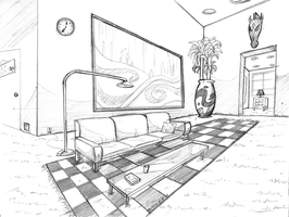 Attempt at Perspective by Zerna