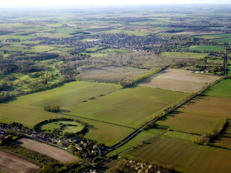 Over Bedfordshire by captainflynn
