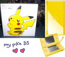 My Pika DS by sunnyfish