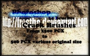 Photoshop Crack Brush by FrostBo