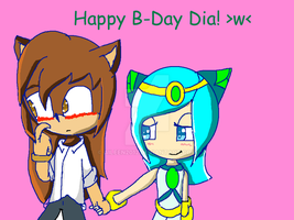 Happy Birthday Dia!!! by Aileen2012