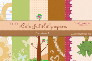 Colorful Wallpapers 1 by kristeli10