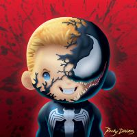 Kid Hero - Venom by RockyDavies
