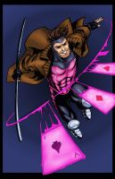 Gambit on the Attack by statman71